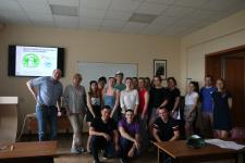 Участники проекта «Культурные ландшафты малых городов» (фото А. Карандеев)
