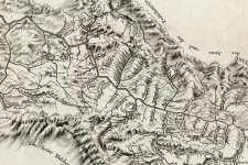 Карта экспедиции Петра Шангина