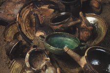 "Керамика с судна ""Архангел Рафаил"". Фото: ЦПИ РГО"