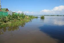 Наводнение на Амуре в 2013 году. Фото предоставлено Хабаровским краевым отделением РГО