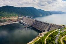 Красноярская ГЭС. Фото: Дмитрий Кандинский