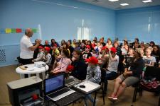 Слет по программе «Школа юных добровольцев»