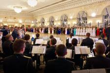 Бал состоялся в Военно-морском институте (Морском корпусе Петра Великого