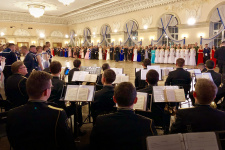 В Санкт-Петербурге в Военно-морском институте состоялся молодёжный бал