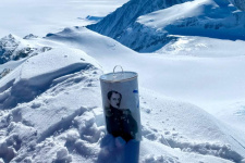 Капсула с усадьбы Федосово на самой высокой точке. Фото: Дмитрий Климчук