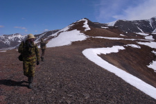 Участники экспедиционных работ в горах. Фото: пресс-служба геофака МГУ