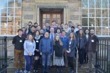 Российские и британские  ученые на совещании в Кембридже. Фото: пресс-служба геофака МГУ
