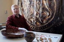 сотрудник музея-заповедника Алексей Тимофеев