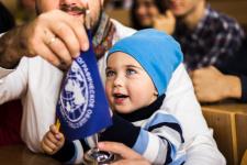 Самый юный участник географического диктанта в Республике Крым (Фото: Гасица К., Гранько Ю.)