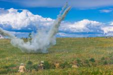 Реконструкция сражения Великой Отечественной войны