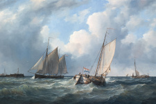 Изображение: Stichting Maritieme Schilderijen, Peter J. Sterkenburg