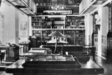 Библиотека в Штаб-квартире РГО в Санкт-Петербурге. Фото из архива РГО
