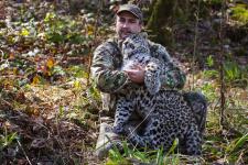 Умар Семёнов, руководитель Центра восстановления леопардов на Кавказе. Из личного архива