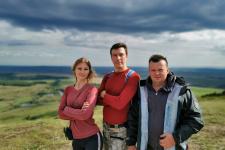 Елена Гакашина, Сергей Пахотин и Александр Беспамятных. Фото предоставлено Сергеем Пахотиным