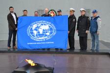 Руководство Мурманского отделения РГО с представителями центра РГО на Северном флоте