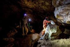 """В пещере """"Кристальная"""""""