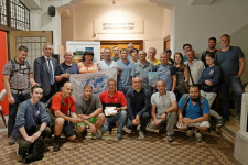 Участники встречи в Сахалинском областном краеведческом музее