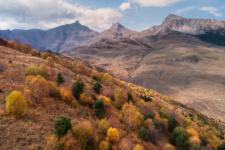 Осень в Северной Осетии. Фото: Александр Федосов