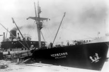"Пароход ""Челюскин"", Ленинград, лето 1933 г. Источник: wikipedia.org"