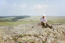 Над геологическим описанием объекта, Кваркенский район, 1990-е годы