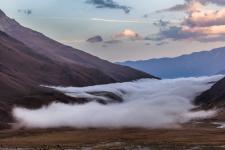 Закат на болоте Чефандзар. Фото: Андрей Носик