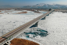 Путь во льдах. Фото: Мария Лукашева