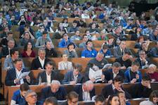 Участники Географического диктанта - 2018. Фото: пресс-служба РГО