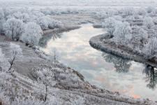 """Перламутровая река. Фото: Юрий Сорокин, участник фотоконкурса РГО """"Самая красивая страна"""""""