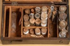 Ящик для полевых экспериментов Владимира Обручева. Фото: Александр Филиппов