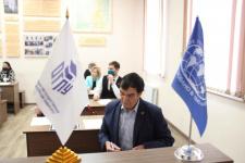 Второе собрание Комиссии ОРО РГО по географическому и экологическому образованию (фото В.И. Беребин)