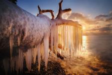 Ледяная борода. Фото: Олеся Федосеенкова