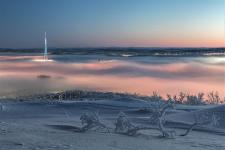 Морозное крещенское утро. Фото: Сергей Каверин