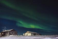 Северное сияние на Таймыре. Фото: Александр Обоимов