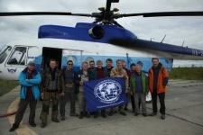 Команда экспедиции. Фото предоставлено Евгением Тамплоном