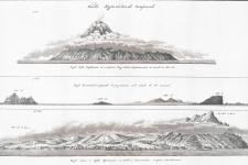 """Иллюстрация из """"Атласа к путешествию вокруг света капитана И.Ф. Крузенштерна"""" (1813). Научная библиотека РГО"""