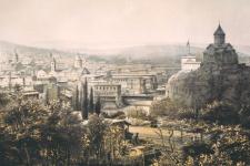 Фото: Тифлис, 1852 год. Русский художественный листок  В. Тимма