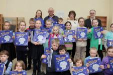 Участники презентации детской книги об Антарктиде. Фото: Кирилл Шадрин