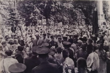 Встреча Юрия Гагарина в Смоленске, июль 1961 г. Фото М.И.Меднова