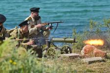 Первый этап I Константиновского морского исторического фестиваля состоялся на Константиновской батарее 8 мая 2021 г.