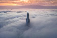 Небесный маяк. Фото: Юрий Столыпин