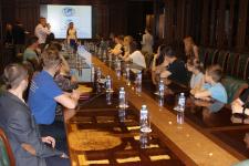Заседание в Штаб-квартире РГО г. Москва. Фото предоставлено Смоленским региональным отделением