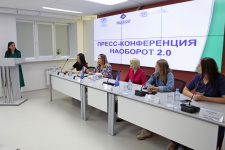 Пресс-конференция наоборот