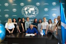 Урок географии в штаб-квартире Ульяновского отделения РГО