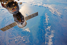 Фотография проекта «Россия глазами космоса», сделанная Фёдором Юрчихиным
