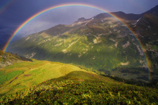 За дождем будет радуга. Фото: Олеся Федосеенкова