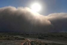 Пыльные бури в Астрахани