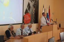 Встреча с академиками в ОГУ (Фото Роман Ряхов)
