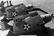F4Fs, апрель 1942 года. Фото: wikipedia.org/U.S. Navy National Museum of Naval Aviation photo