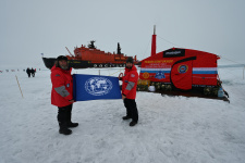 Фото предоставлено экспедиционным штабом Фёдора Конюхова