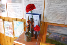 """Внутри общественного музея """"Титовский рубеж"""", Мурманская область, фото Ларисы Саляевой"""